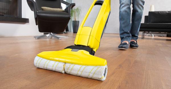 Umývanie podlahy pomocou Kärcher FC5