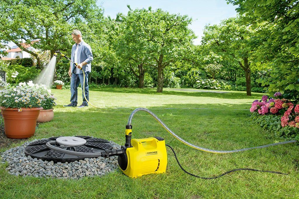 záhradné čerpadlo Kärcher BP2 - pohodlné zavlažovanie