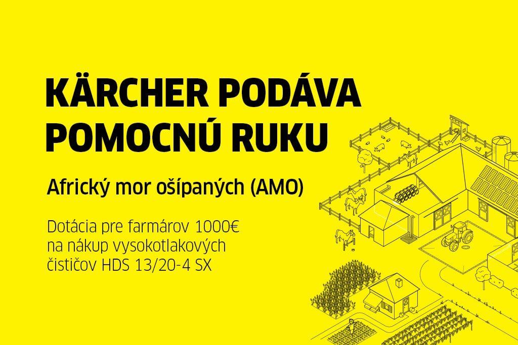 Kärcher podáva pomocnú ruku AMO -dotácia pre farmárov
