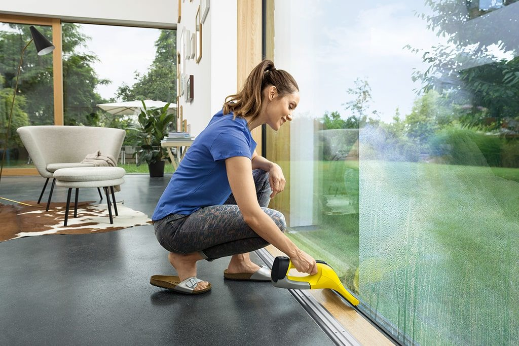umývanie okien Karcher čističom