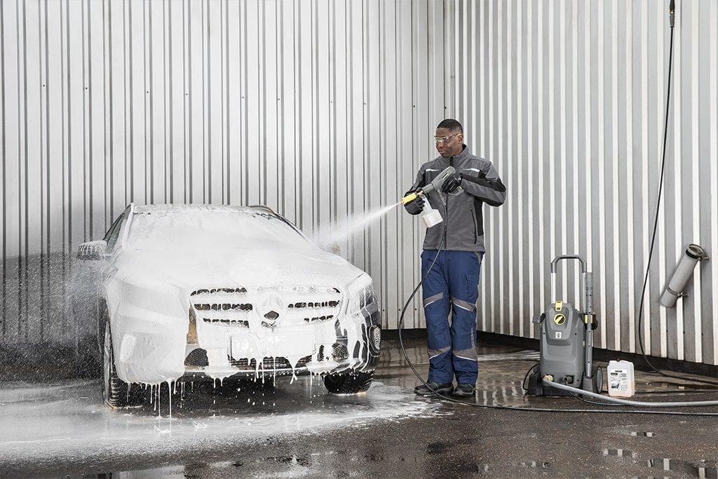 Umývanie tlakovým čističom